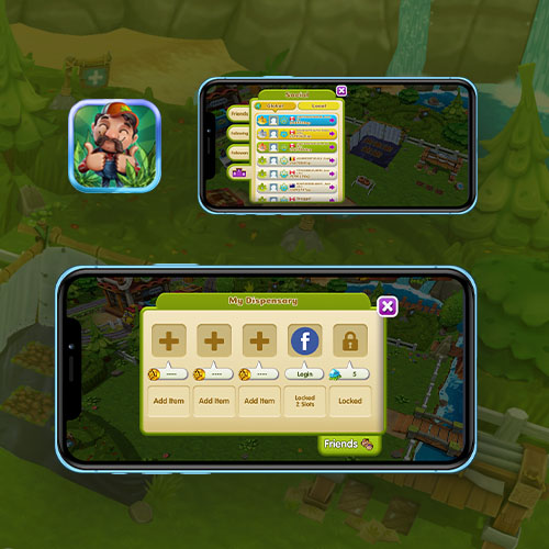 Cannafarm UI Design