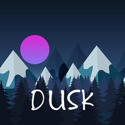 Dusk Game Art and Branding