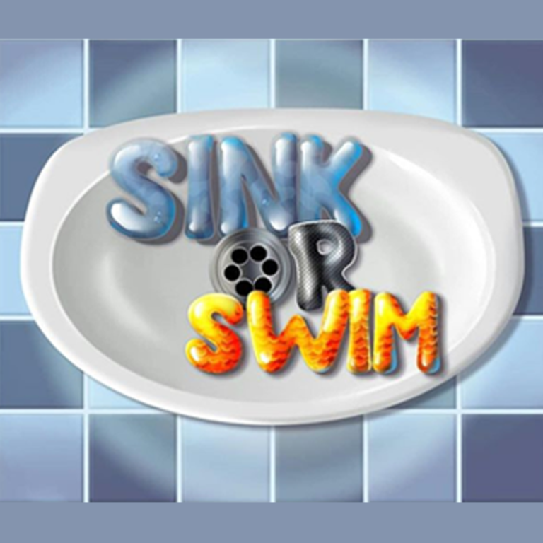 Sink or Swim Game Logo Design