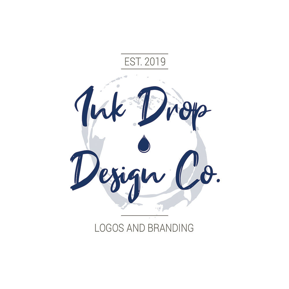 Ink Drop Design Co Logo