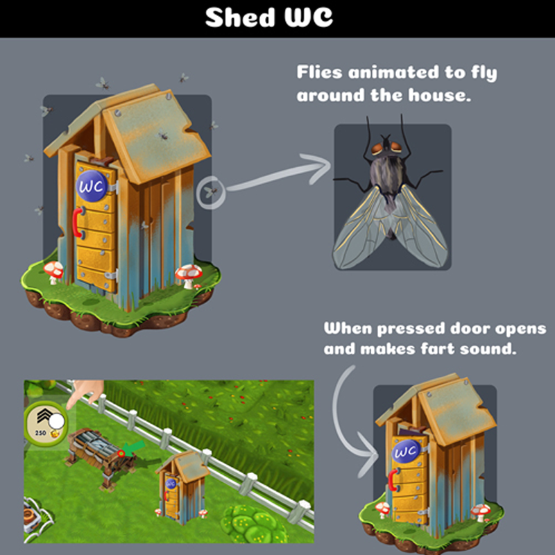 Shed Building Concept Art