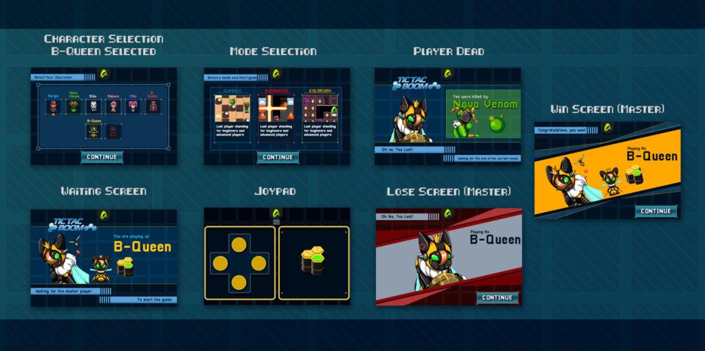 Tic Tac Boom UI Design Concept