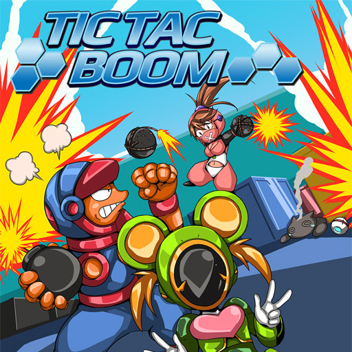TicTacBoom Multiplayer Logo
