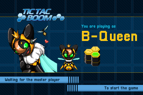 Tic Tac Boom Waiting Screen UI Design