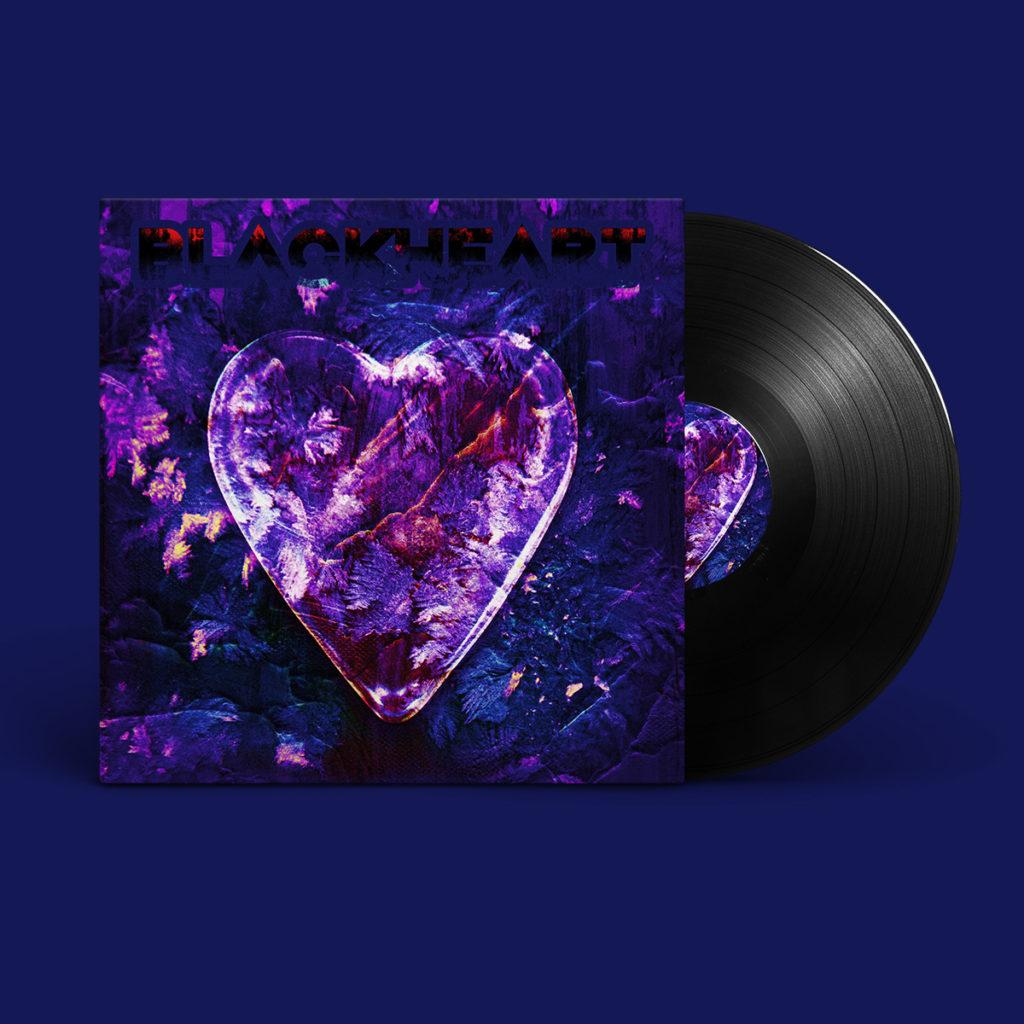 Blackheart Album Cover Design