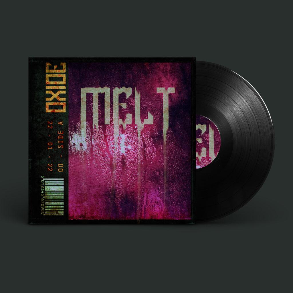 Melt Album Cover Design